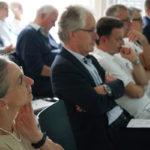 Publikum bei der Verleihung des T-Zertifikats an das Spital Langenthal
